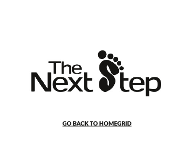The Next Step - go back